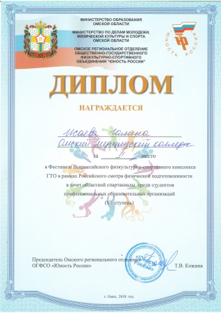 Итоги Фестиваля Всероссийского физкультурно-спортивного комплекса ГТО