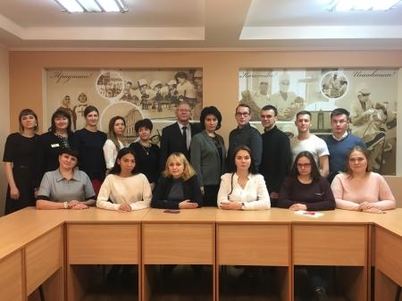 Встреча председателя Всероссийского общественного движения «Волонтёры – медики» с координаторами  направлений регионального отделения